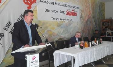 Tauron Wydobycie: Delegaci poparli Waldemara Sopatę