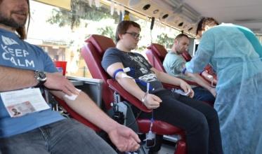 """""""Sobieski"""": Szczególna mobilizacja krwiodawców"""